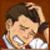 Apollo Justice blushed - emoticon