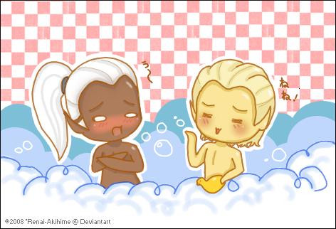 Bath Time by Renai-Akihime