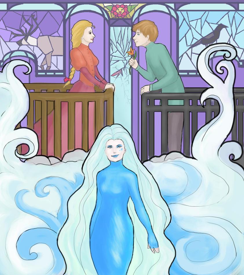 The Snow Queen by Andersen by orliczka