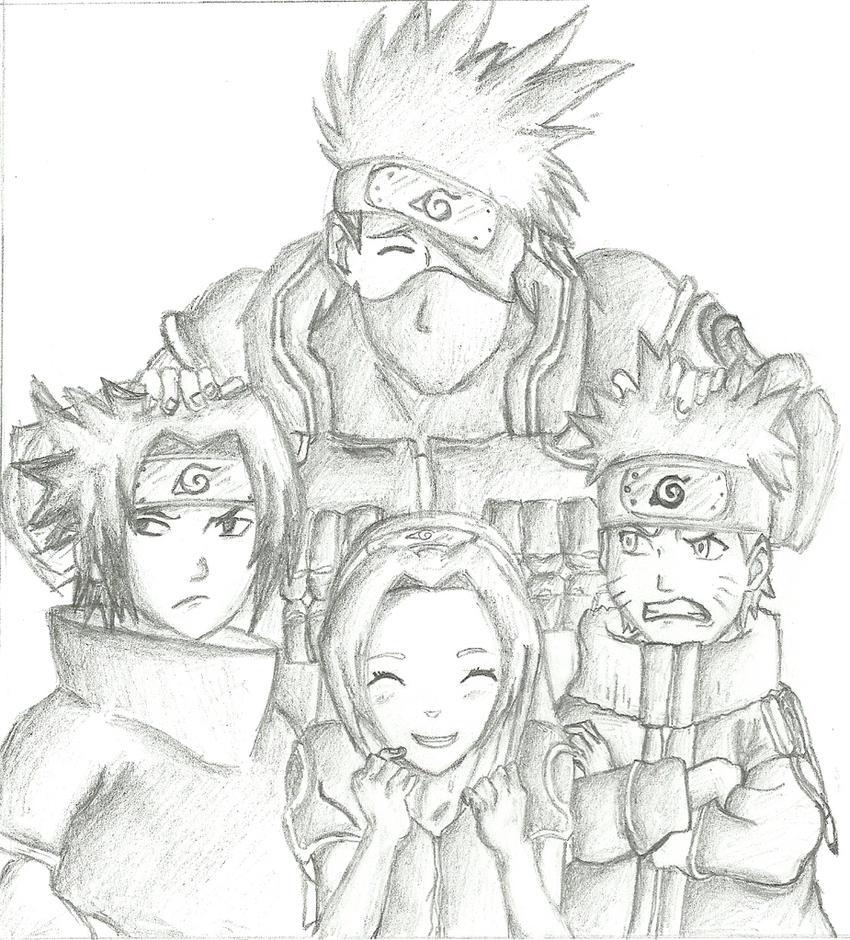 team kakashi by loulou94