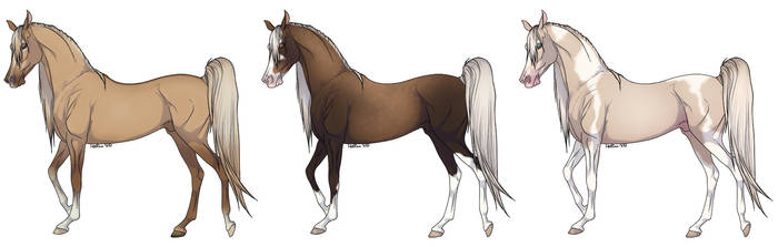 Cream Gene Horse Adopts [50 points]