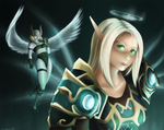 Chionee and her Val'kyr Companion