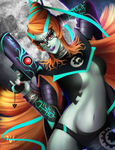 Midna the Umbra Witch by Meeshell-Art