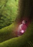 Fairy in a Bottle by Meeshell-Art