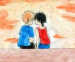 Kids Ichigo and Tatsuki