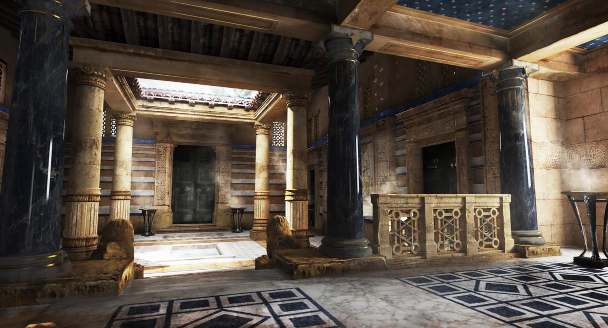 Roman Villa Atrium