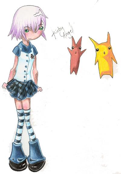 Kurb'z Drawings! ENCORE À LA 27 IEME PAGE =D - Page 16 Fast_coloring_by_KirbyAngel