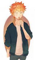 Shoyo Hinata by kaysartsoulbliss17
