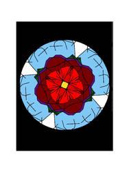 Flower Mandala by FoxyRelina