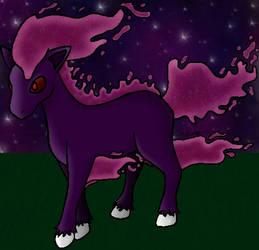 Alolo Form Ponyta (Psychic) by FoxyRelina