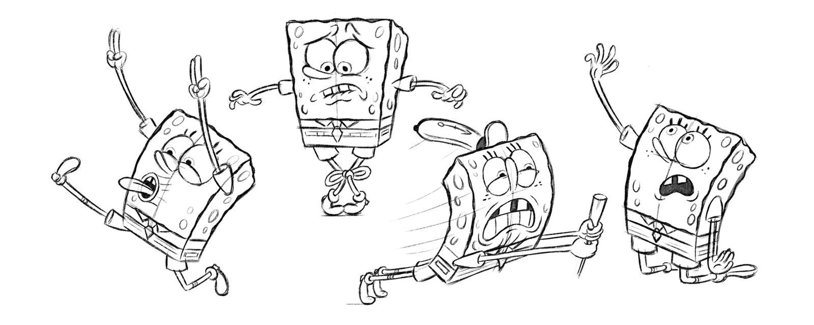 Spongebobs more sketches!!