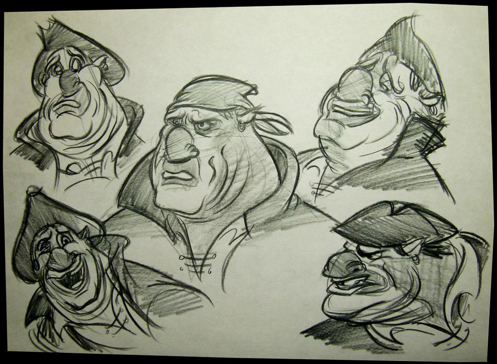 John Silver (Treasure Planet) by brianpitt