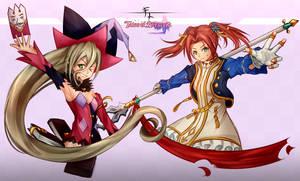 Magilou and Eleanor