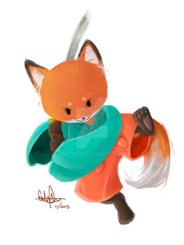 Samurai Fox