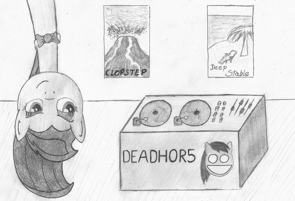Discord caught Octavia by NotAPonyUsername