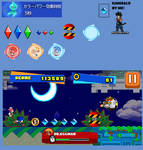 Sonic runners sprites
