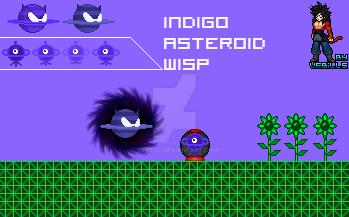 Indigo Asteroid Wisp Sprites by Vebills on DeviantArt