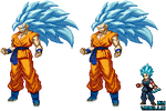 Goku SsGSs 3 DbZ:Extreme butoden
