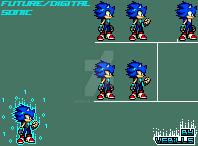 Future/Digital Sonic by Vebills