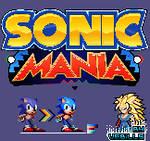 Sonic Mania - Sonic Sprite