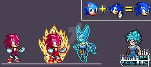 Super Sonic God Sprite by Vebills