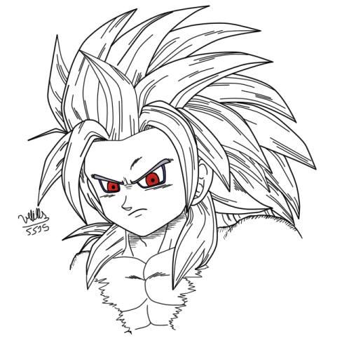 Son Goku Super Saiyan 5 By Vebills On Deviantart