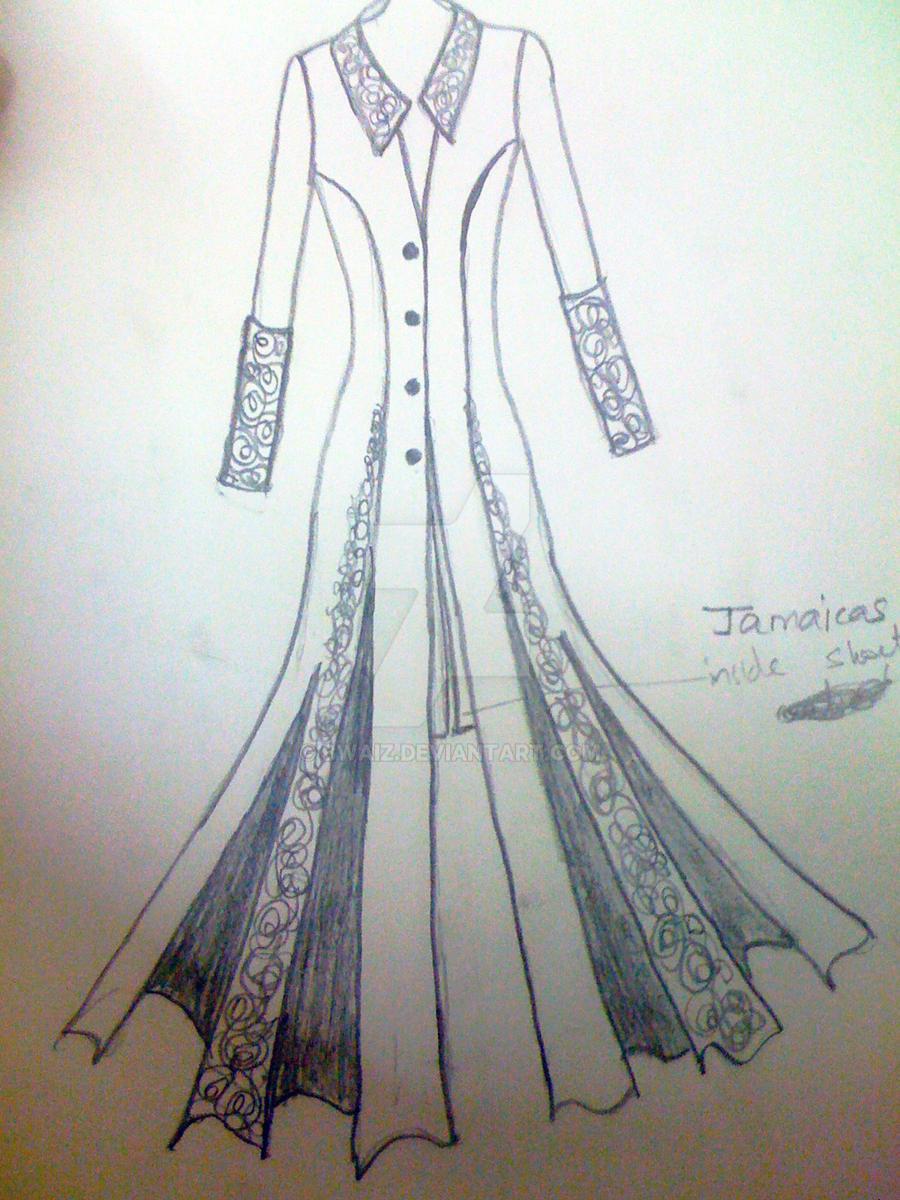 Indian Fashion Sketch Illustration Men