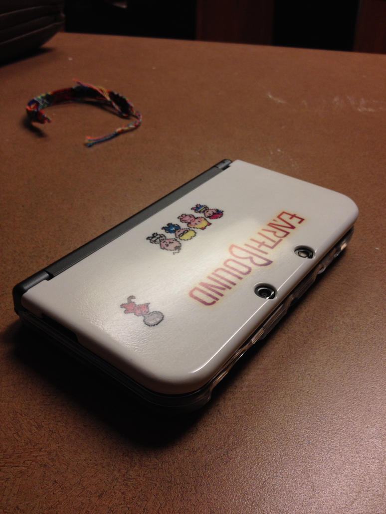 custom earthbound new 3ds case by lcrgrizzled on deviantart