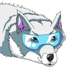 Havoc Fox Grey Head by DynoStorm
