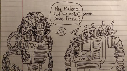 Malenz and Alphus Comic