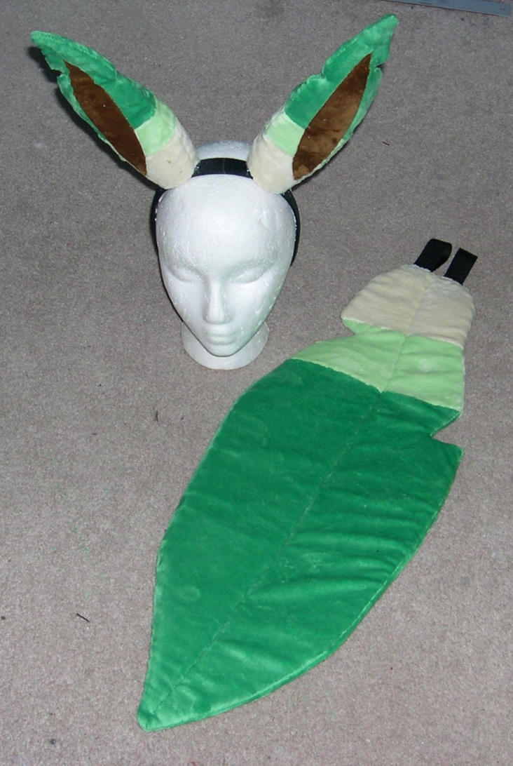 Leafeon Cosplay For Sale images - 144.2KB