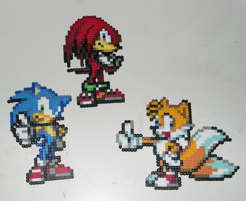 Sonic sprites by Bladespark
