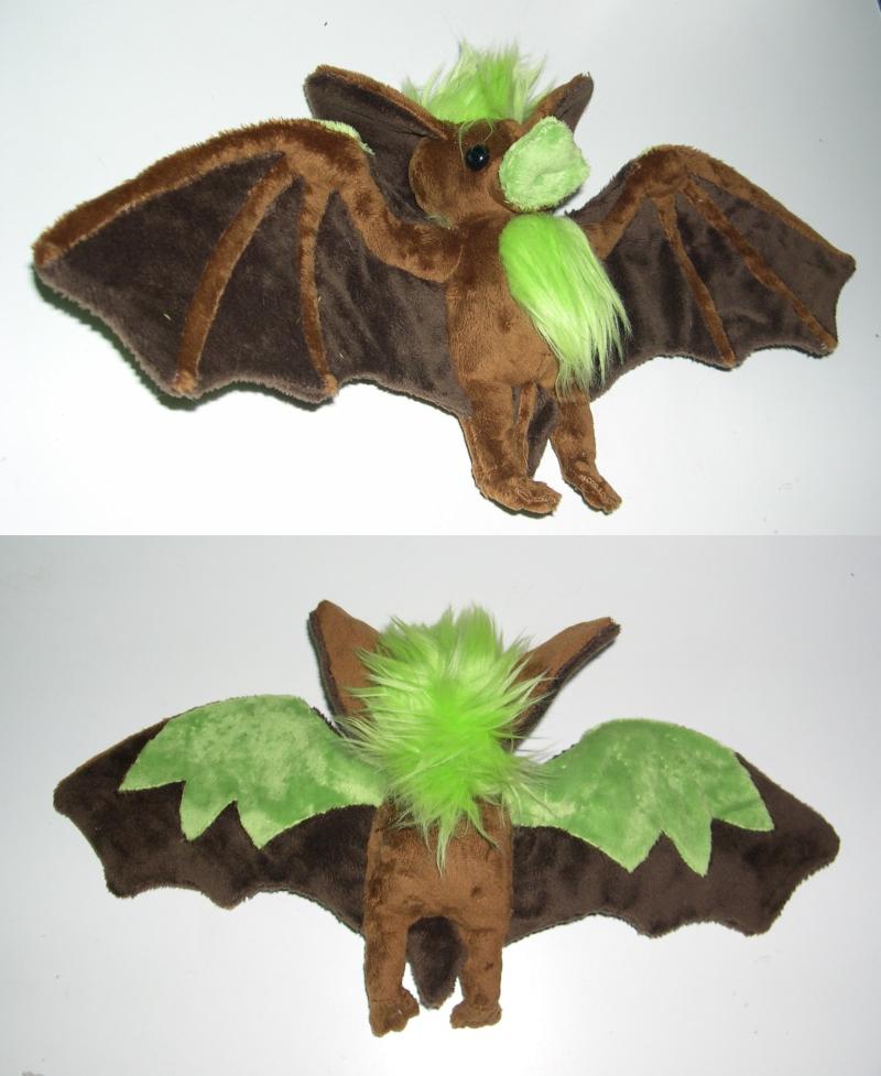 Leafbat plush by Bladespark