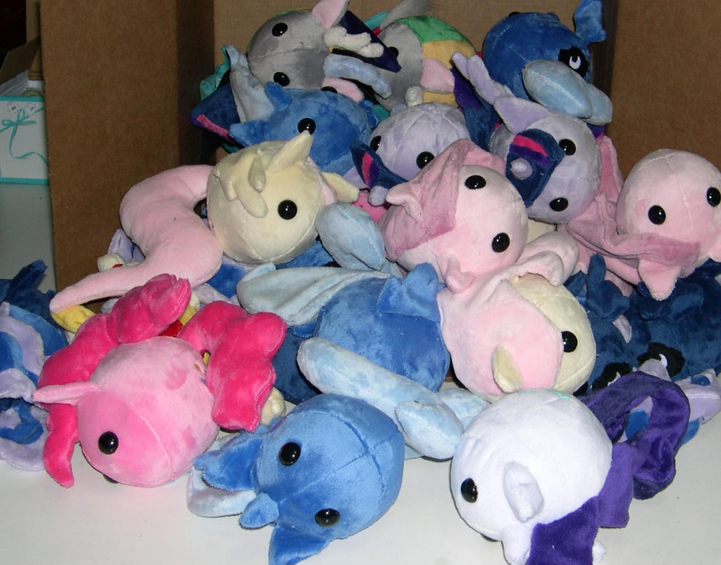 Bronycon stuff #2: pile of Loonakits by Bladespark