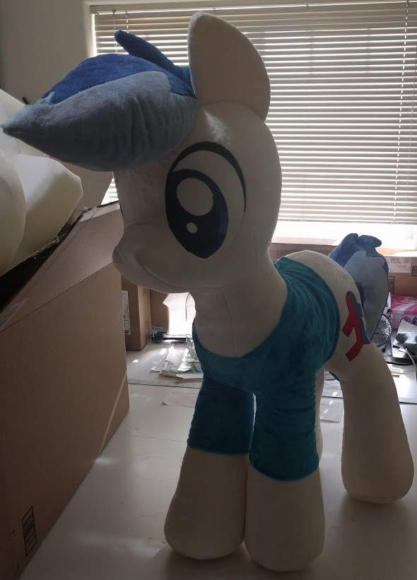 Big pony OC by Bladespark
