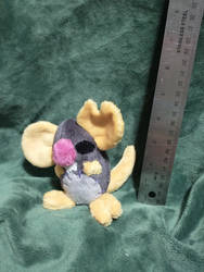 Small Mort Plush (twitter giveaway)