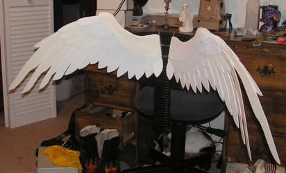 Aidan's wings mark I by Bladespark