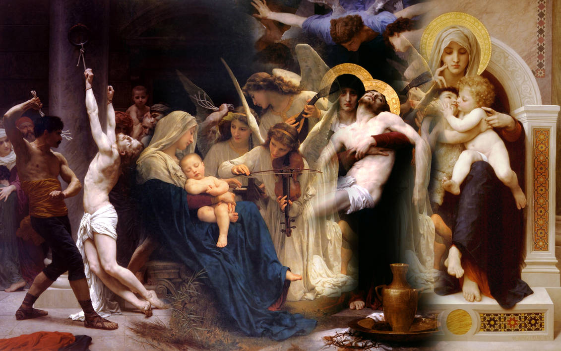 Hommage to Bouguereau