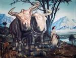 The Shepherdess by anubis