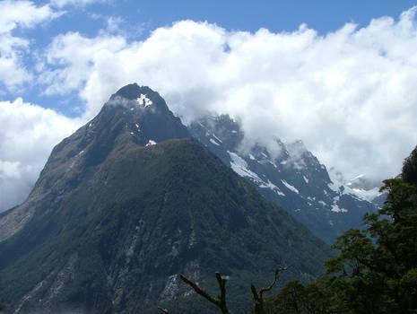 Mountainous Fiordland