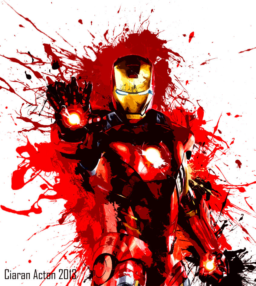 Abstract IRONMAN By Necronomicon32 On DeviantArt