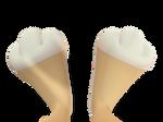 Lola Bunny Feet Close Up 3D 4