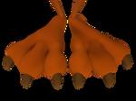 Wile E. Coyote Feet Close Up 3D 5