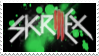 SKRILLEX Stamp by MockingJay98