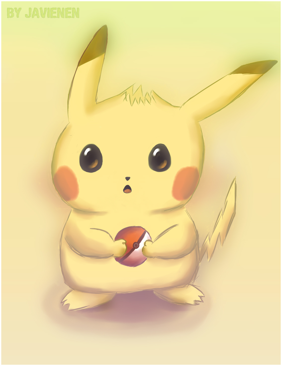 Cute Pikachu by Javienen on DeviantArt