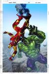 Ironman + Hulk