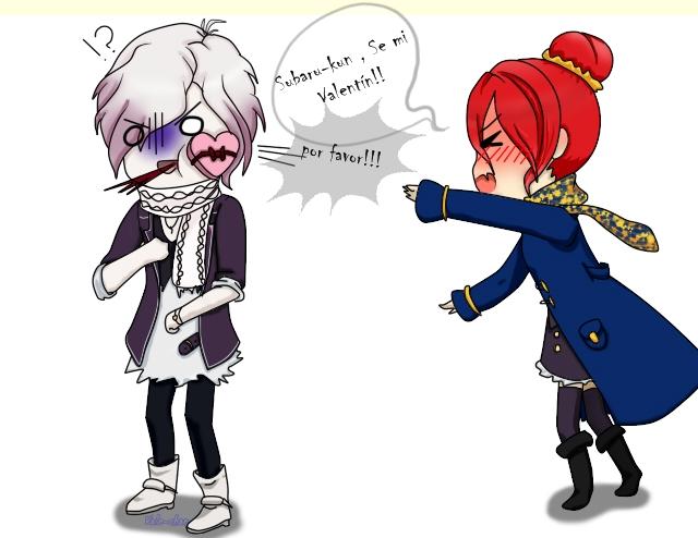 -Diabolik Lovers Oc- Be my Valentine ... Please!! by vale-inazuma