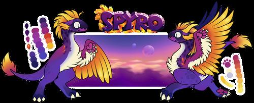 Spyro - MYO Byubuu Ref. by TDLBallistic