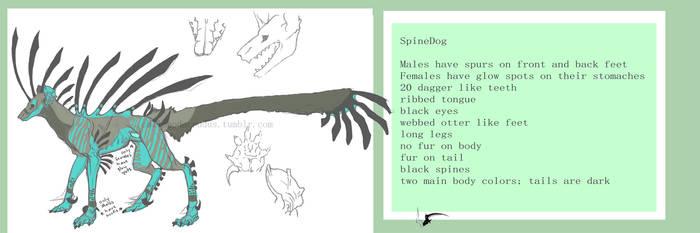 Spinedog reference Update by spiralofvertigo