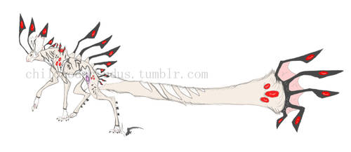 Female Spinedog by spiralofvertigo